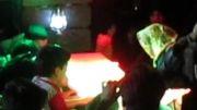 مراسم وداع با شهید گمنام در شهرستان ملارد - زیارت زوّار