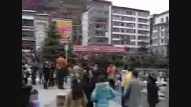 زمین لرزه های چین