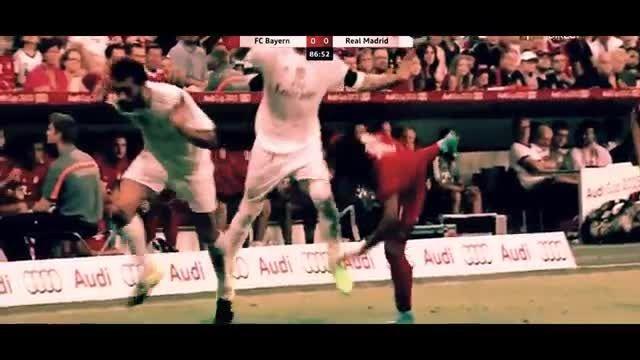 بایرن مونیخ 1 -0 رئال مادرید ( رئال بدون رونالدو  )