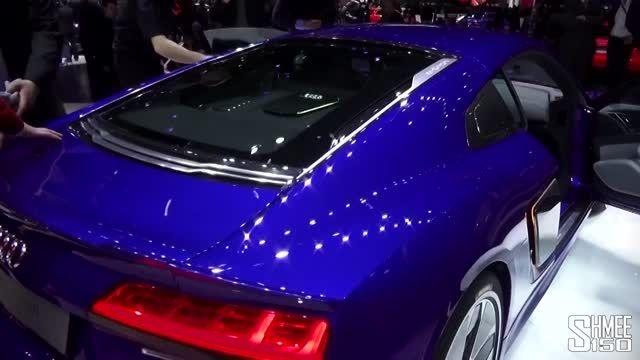 Audi R8 e-tron در ژنو 2015