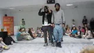 هیپ هاپ دنس - best two hiphop dancer