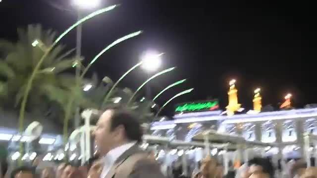مداحی ایمان نژاد و شهروز حبیبی بین الحرمین
