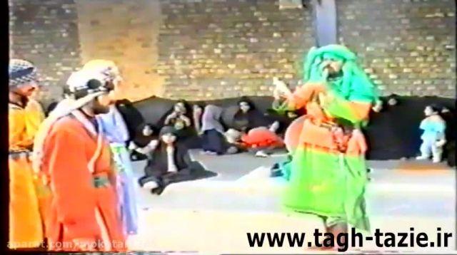 تعزیه جناب مسلم روستای طاق شهرستان دامغان خرداد 1374(1)