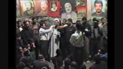 عزاداری هیئت حسینی  شهدای خرم آباد-1376 حاج آقاکریمی