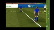 تمرینات کنترل توپ در فوتبال