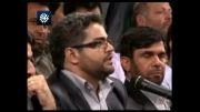 شعرخوانی احمد علوی در محضر رهبر انقلاب