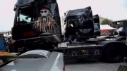 Painted Trucks