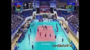 خلاصه ست سوم والیبال ایران و روسیه (بازی رفت - لیگ جهانی)