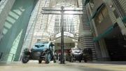هنرنمایی رانندگان فرمول ۱ با خودرو کوچک و برقی رنو