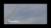 """ازمایش موشک های ایران تهیه شده ازگروه """"یا اباصالح"""""""