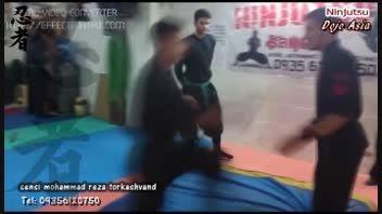 کلیپ آموزش تکنیک های درگیری خیابانی سنسی ترکاشوند