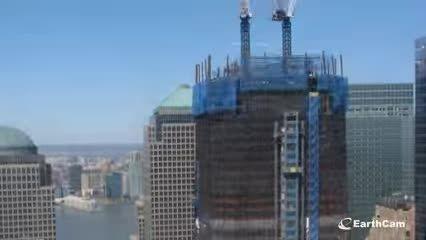تایم لپس مرکز تجارت جهانی زمان گذشت 2004-2013