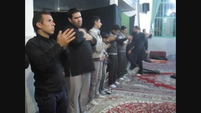 مراسم سینه زنی محرم وصفر...مسجد امام حسین(ع)شهرخنجین3