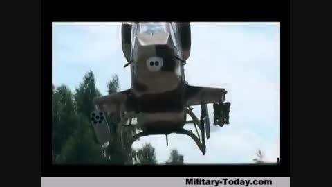 هلیکوپتر شناسایی و رزمی Kazan Ansat 2RC