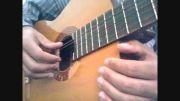 تمرین دو جلسه یک آموزش رایگان گیتار