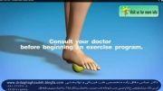 ورزش جهت درمان درد پاشنه وخار پاشنه ودرد کف پا-دکتردقاق زاده