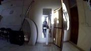 تست لرزشگیر دوربین gopro ساخت شرکت ICT  کاملا داخلی