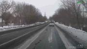 رانندگی در جاده لغزنده با دل خجسته
