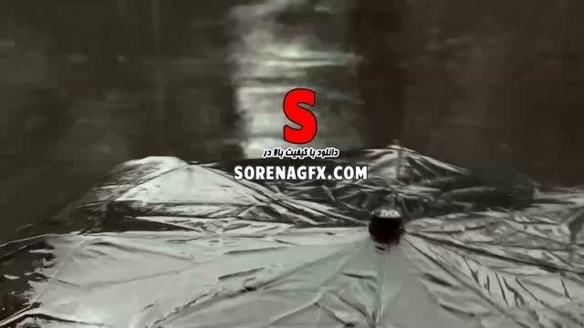 دانلود فوتیج با كیفیت بارش باران و چتر