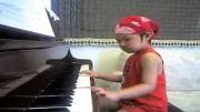 پیانو  برای همه - - کودکی 8 ساله و با احساس
