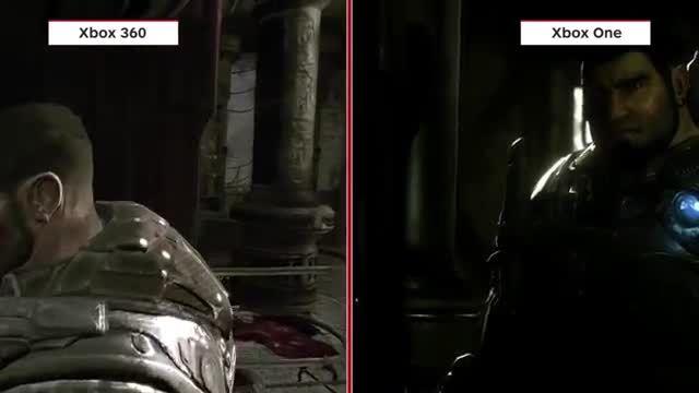 مقایسه گرافیکی Gears Of War روی XBOX One و XBOX 360