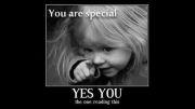 تو خاص هستی!  اره تو!
