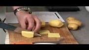 سیب زمینی سرخ کرده به روش فرانسوی