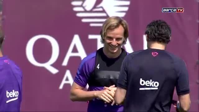 تمرینات صبح امروز بارسلونا (10.05.2015)