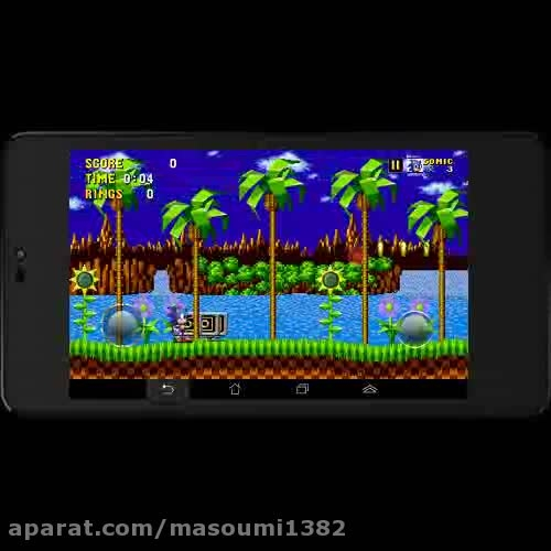 سوپر سونیک در sonic the hedgehog 1 (android)