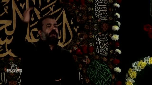 حاج محمود کریمی و حاج محمد کمیل شب ششم محرم 94 زمینه 3