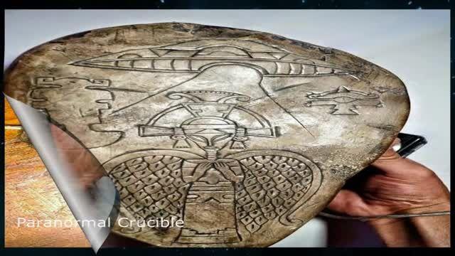 دولت مکزیک اشیاء باستانی بجامانده از موجودات فضایی را به نمایش گذاشت