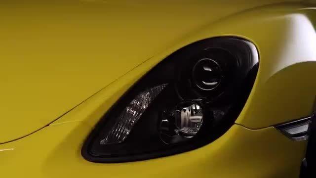 تماشا کنید: تیزر رسمی پورشه کیمن GT4 مدل 2016