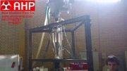 دستگاه گراویمتریک کنترل اتوماتیک وزن لوله های پلیمری حین تولید شرکت AHP