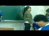 تنبیه بدنی کودکان توسط معلم زن