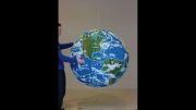 ساخت کره ی زمین با استفاده از کبریت!
