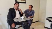 صداسازی و تقلید صدای جالب خنده دار  فرزان و حسن ریوندی