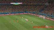 هلند ۰ - ۰ کاستاریکا (پنالتی ۴ -۳ به سود هلند)