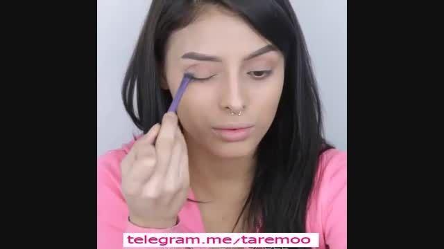 آرایش و خودآرایی صورت زیبا و دخترانه در تارمو