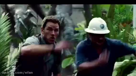 بهترین قسمت هاى فیلم زیباى Jurassic World