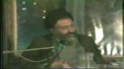 توصیه می شود سخنرانی دکتر بهشتی را گوش بدهید