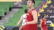 کلیپ از آمادگی تیم بسکتبال اسپانیا قبل از بازی با ایران