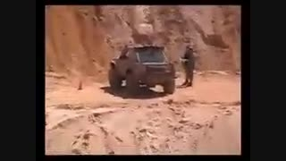بالا رفتن ماشین روی تپه