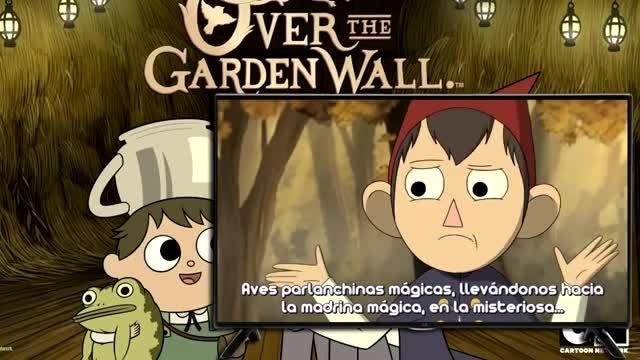 فسمت دوم over the garden wall (بیش از دیوار باغ)
