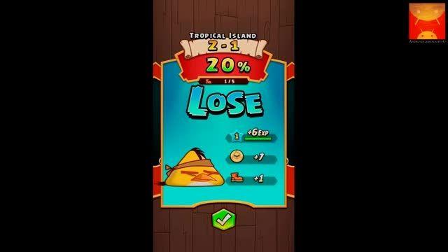 گیم پلی بازی اندرویدی Angry Birds Fight! بخش دوم