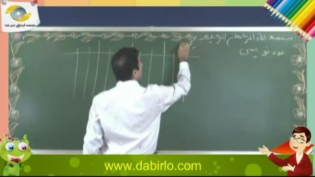 دبیر دسا - فیلم آموزشی ریاضی پنجم دبستان - آقای تجا