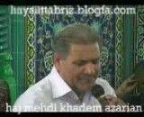 حاج مهدی خادم آذریان بی همگان