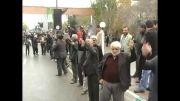 فیلم دسته عزاداری مسجد حاج دینی سلطان تاکستان - محرم 92