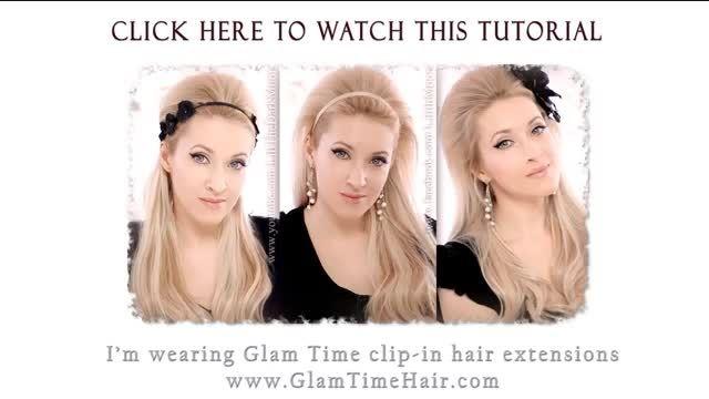 آموزش  مدل بافت زیبای موی سر باربان:)✿