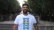 علی سورنا؛دعوت دایان از علی سورنا برای چالش سطل آب یخ