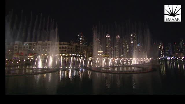 آتیش بازی سال نو در برج خلیفه دبی